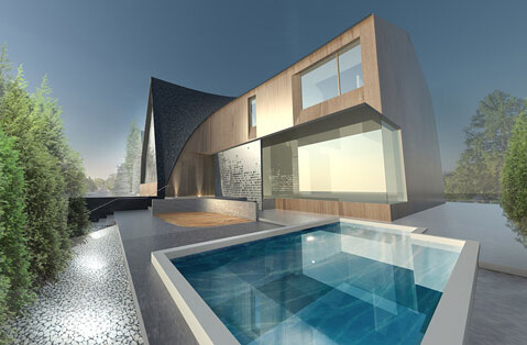related project title Bézier Curve House