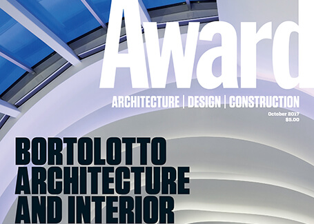 Image of Award Magazine features Bortolotto