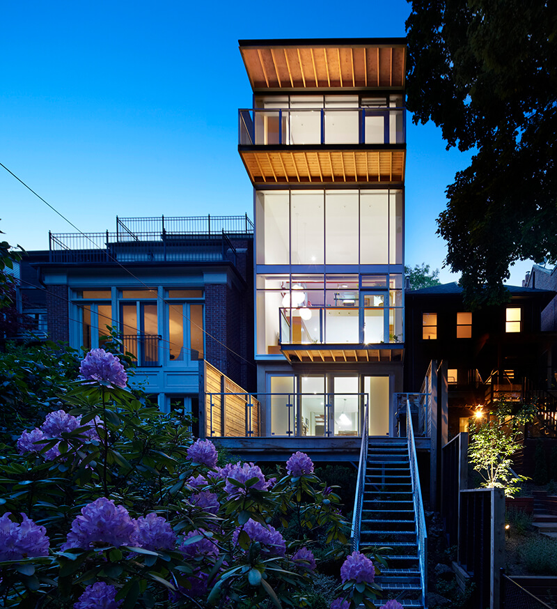 Top image Urban Ravine House